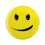 Smiley Face - Evil Grin 3.5