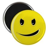 Smiley Face - Evil Grin Magnet