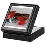Gerbil In Love Keepsake Box