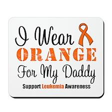I Wear Orange For My Daddy Mousepad