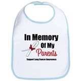 In Memory Parents Lung Cancer Bib