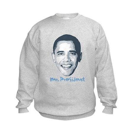 Mr. President Kids Sweatshirt