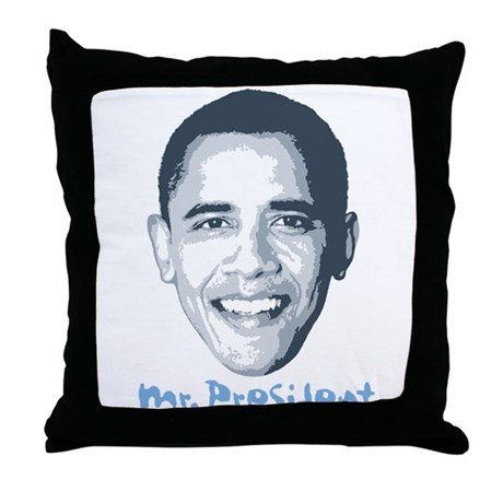 Mr. President Throw Pillow