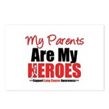 Lung Cancer Hero (Parents) Postcards (Package of 8