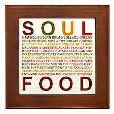 Soul Food II Framed Tile