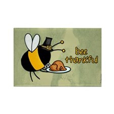 bee thankful Rectangle Magnet (100 pack)