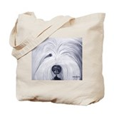 Unique Old english sheepdog Tote Bag