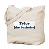 Tylor the bachelor Tote Bag