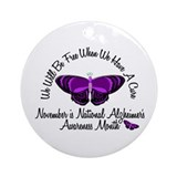 Alzheimers Awareness Month 3.2 Ornament (Round)