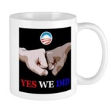 Yes We Did FistBump Small Mug