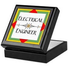 Electrical Engineer Line Keepsake Box