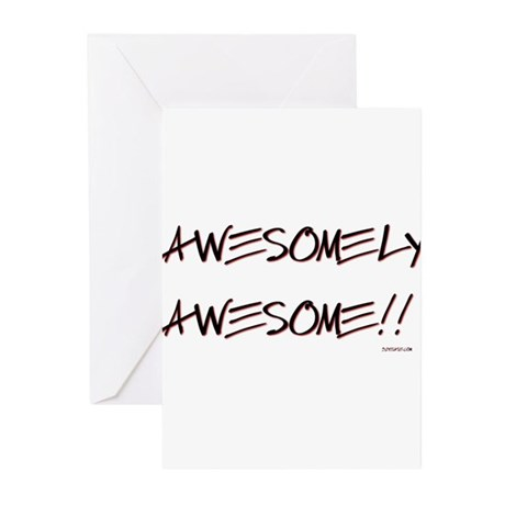Awesomely Awesome Greeting Cards (Pk of 10)