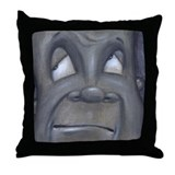 Funny Frame of mind Throw Pillow