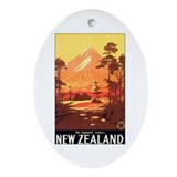 New Zealand Keepsake (Oval)