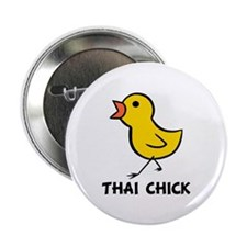 "Thai Chick 2.25"" Button (10 pack)"