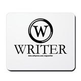 Writer (Typewriter Key) Mousepad