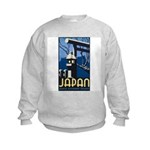 Japan (Front) Kids Sweatshirt