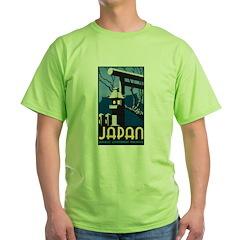 Japan Green T-Shirt