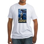 Japan (Front) Fitted T-Shirt