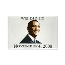 Obama Victory Rectangle Magnet