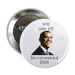 "Obama Victory 2.25"" Button"