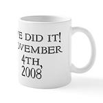 Obama Victory Mug