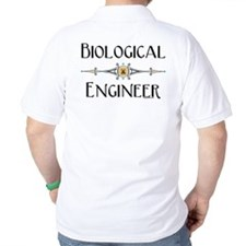 Biological Engineer Line (Back) T-Shirt