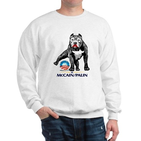 Pitbull Pee Obama Logo Sweatshirt