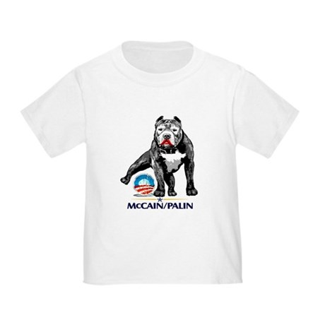 Pitbull Pee Obama Logo Toddler T-Shirt