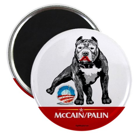 "Pitbull Pee Obama Logo 2.25"" Magnet (100 pack)"