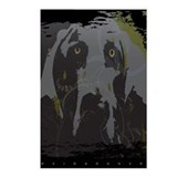 &quot;Grey Ghost&quot; Grungy Postcards (Package of 8)