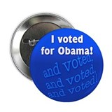 "I voted for Obama! 2.25"" Button"