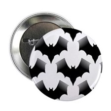 "BLACK BATS 2.25"" Button (10 pack)"