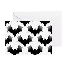 BLACK BATS Greeting Cards (Pk of 10)