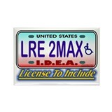 LRE to the Max Rectangle Magnet