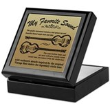 BEATLEGUITAR4 Keepsake Box
