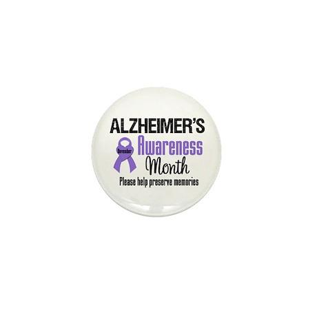 Alzheimer's Awareness Mini Button (10 pack)