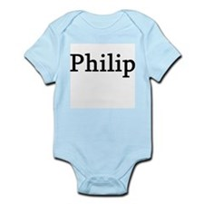 Philip - Personalized Infant Creeper