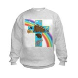 Blue Noah's Cross Sweatshirt