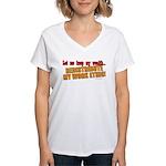 Redistribute My Work Ethic Women's V-Neck T-Shirt