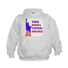 Voted Obama Hoodie