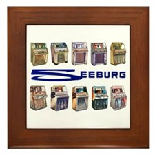 Seeburg Select-O-Matics Framed Tile