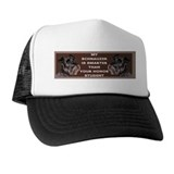 min schnauzer honor sticker Trucker Hat