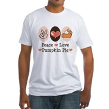Peace Love Pumpkin Pie Shirt