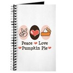 Peace Love Pumpkin Pie Journal