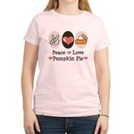 Peace Love Pumpkin Pie Women's Light T-Shirt