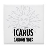 Icarus-Carbon Tile Coaster