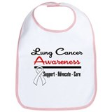 Lung Cancer Awareness Bib