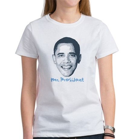 Mr. President YES WE DID Women's T-Shirt