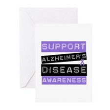 Support Alzheimer's Awareness Greeting Cards (Pk o